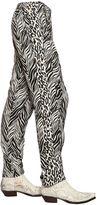 Faith Connexion Zebra Printed Fluid Viscose Pants