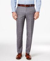 Lauren Ralph Lauren Men's Classic-Fit Gray Windowpane Dress Pants