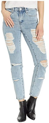 Blank NYC The Rivington High Rise Tapered Jeans in Acid Trip (Acid Trip) Women's Jeans