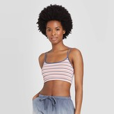 Women's Striped Unlined Strappy Bralette - ColsieTM