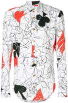 Vivienne Westwood abstract print shirt
