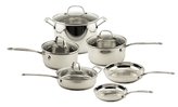 Berghoff Earthchef Professional Copper Clad Cookware Set (10 PC)