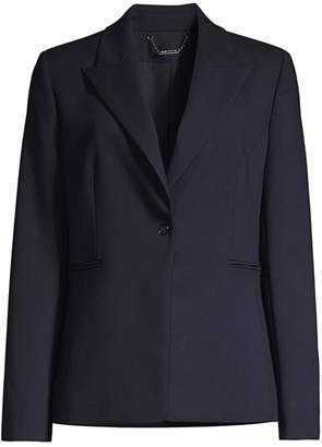 Elie Tahari Limani Single-Button Blazer