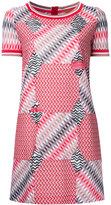 Missoni geometric pattern T-shirt dress - women - Cotton/Viscose - 44