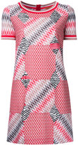 Missoni geometric pattern T-shirt dress