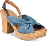 Kenneth Cole Reaction Tole Booth Platform Slingback Sandals