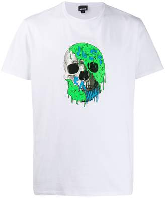 Just Cavalli printed skull T-shirt