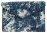 Rebecca Minkoff Leo Denim Clutch - Blue