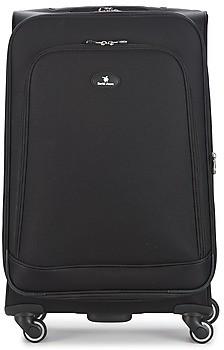 David Jones VERLUDE 80L women's Soft Suitcase in Black