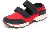 Marni Nylon Double Strap Open Sneakers