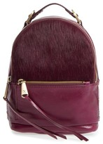 Hobo Revel Convertible Leather & Genuine Calf Hair Backpack