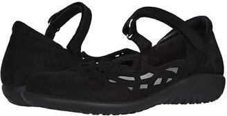 Naot Footwear Agathis (Black Velvet Nubuck) Women's Shoes