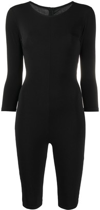 Alchemy Long-Sleeve Fitted Jumpsuit