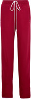 Chloé Jersey wide-leg track pants