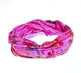 Jane Tran Floral Nylon Headwrap