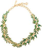 Oscar de la Renta tropical palm necklace