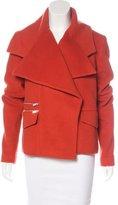Thomas Wylde Wool-Blend Short Coat