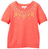 Milly Minis Embellished Knit Tee (Big Girls)