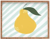 DENY Designs Joy Laforme A Pear Is A Pear Tray