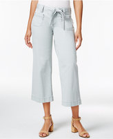 Jag Wallace Wide-Leg Capri Pants