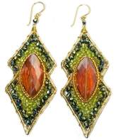 Ananda Handcrafted Crystal Earrings