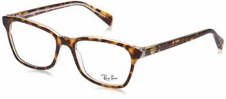 Ray-Ban Unisex's Rx5362 Square Eyeglass Frames Prescription Eyewear