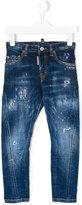 DSQUARED2 distressed jeans - kids - Cotton/Spandex/Elastane - 10 yrs