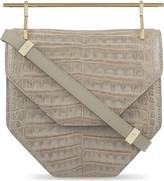 M2Malletier Amor fati crocodile leather bag