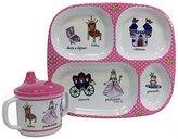 Baby Cie Princess, Melamine Plate & Sippy Cup - 2 Piece Set by
