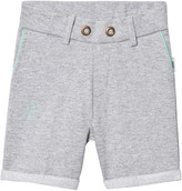 eBBe Kids Grey Melange Saros Sweat Chinos Shorts