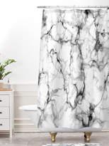 Deny Designs Marble No 3 Shower Curtain & Bath Mat Set (2 PC)