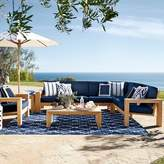 Williams-Sonoma Williams Sonoma Larnaca Outdoor 3-Piece Teak Loveseat Sectional