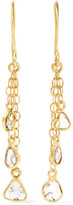 Pippa Small 18-karat Gold Diamond Earrings - one size