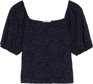 Chelsea28 Crop Lace Top