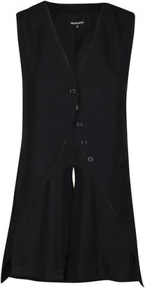 Ann Demeulemeester Asymmetric Button Waistcoat