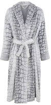 George Animal Pattern Dressing Gown