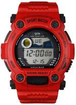 QIIN Red Girls and Boys Digital Watches