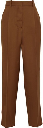 Victoria Beckham Wool-crepe Tapered Pants