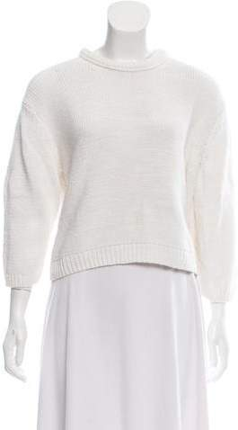 Acne Studios Crew Neck Crop Sweater