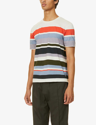 Ted Baker Sleep striped cotton-jersey T-shirt