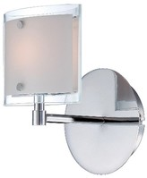 Lite Source Icety Wall Light - Silver