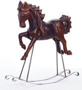 Southern Living Nostalgic Noel Collection Vintage Rocking Horse Figurine