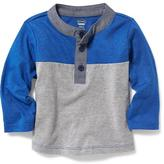 Old Navy Color-Block Henley Top for Baby