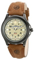 Timex Metal Field EXPEDITION® Brown Leather Strap Watch