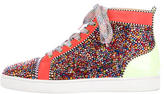 Christian Louboutin Louis Strass Clair De Lune Sneakers