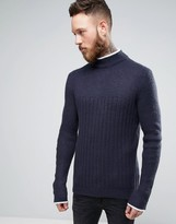 Asos Jumper With Turtle Neck