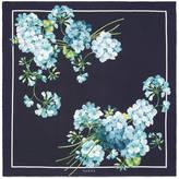 Gucci Blooms print silk pocket square