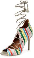 Malone Souliers Savannah Lace-Up Sandal