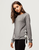 Mimichica MIMI CHICA Side Ribbon Womens Sweatshirt