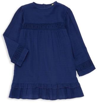 Roller Rabbit Little Girl's & Girl's Luna Embroidered Dress